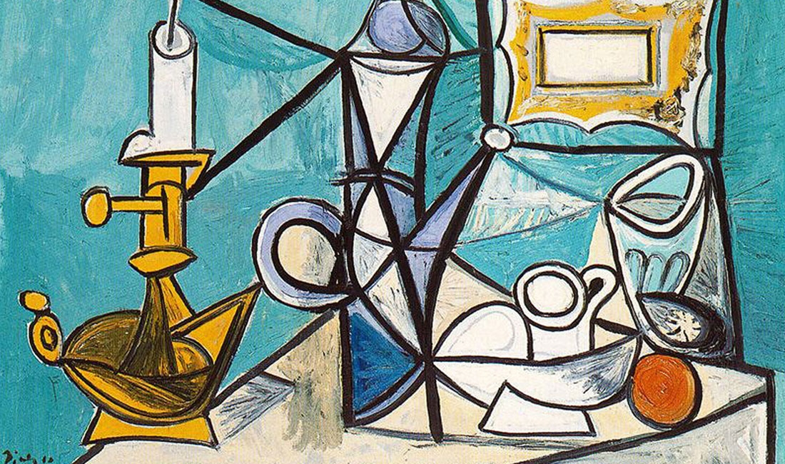 Pablo Picasso, Still life with lamp