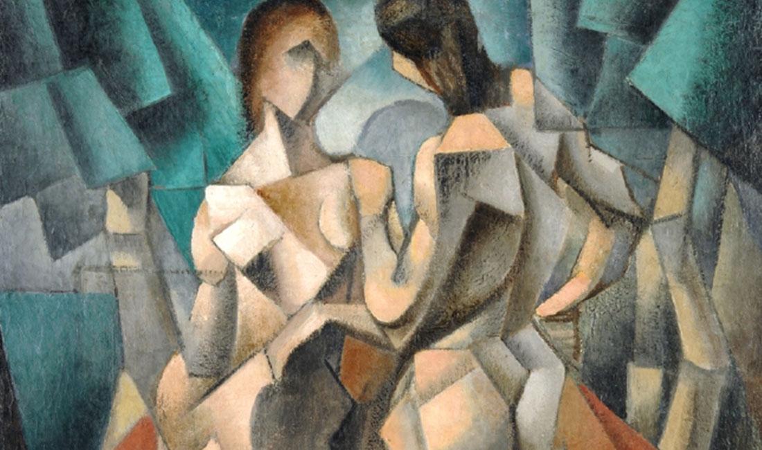 Jean Metzinger, Deux Nus (Two Nudes, Two Women)