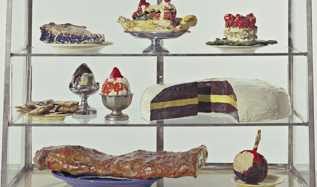 Claes Oldenburg, Pastry Case, I