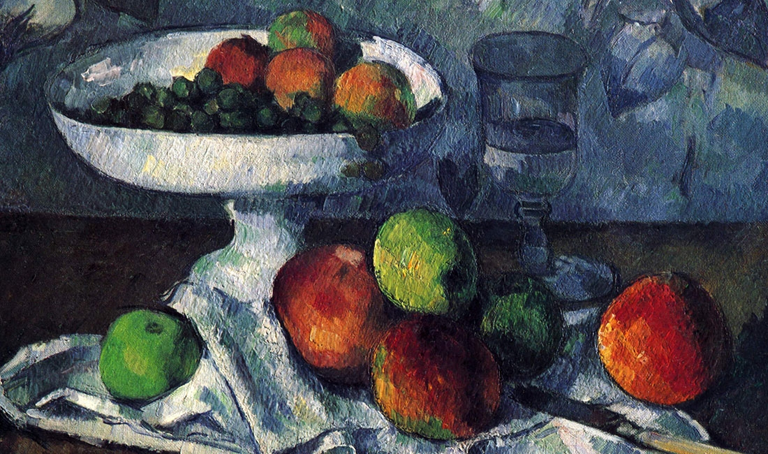 Paul Cézanne, Still Life With Fruit Dish