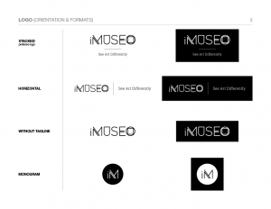 Logo in various formats